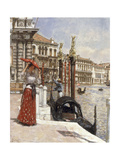 The Heat of the Day, Venice, 1892 Giclee Print by James Charles