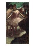 Trois Danseuses en Rose, c.1886 Prints by Edgar Degas