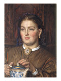 Honest Labour has a Comely Face Giclee Print by William Holman Hunt