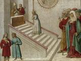 The Presentation of the Virgin Art by  Giovanni Di Niccolo Del Biondo