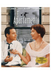 The Apartment, Spanish Movie Poster, 1960 Láminas