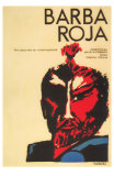Red Beard, Cuban Movie Poster, 1964 Psteres