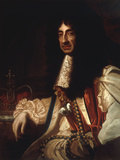 Portrait of Charles II Prints by Godfrey Kneller