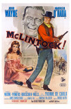 McLintock, Italian Movie Poster, 1963 Poster