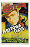 Arizona Days, 1937 Posters