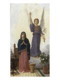 L'Annonciation Impression giclée par William Adolphe Bouguereau