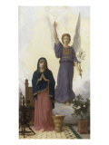 The Annunciation (panel) Lámina giclée por William Adolphe Bouguereau