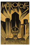 Metropolis, German Movie Poster, 1926 Pster