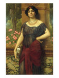 The Tambourine Girl, 1909 Impresso gicle por John William Godward