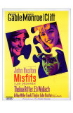 The Misfits, French Movie Poster, 1961 Print