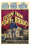 Escape from Fort Bravo, 1953 Poster