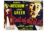 Out of the Past, UK Movie Poster, 1947 Photo