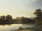 Eton from the River, 1818 Giclee Print by Patrick Nasmyth