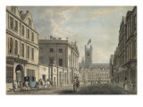 The Guildhall and Bath Abbey Church from the High Street, 1777 Giclee Print by Thomas Malton
