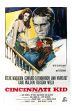 The Cincinnati Kid, Italian Movie Poster, 1965 Posters