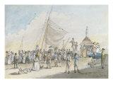 Margate Pier Giclee Print by John Nixon