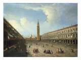 A View of Piazza San Marco, Venice Giclee Print by Michele Marieschi