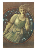 The Nymph of the Stars, c.1888 Giclee Print by Edward Coley Burne-Jones