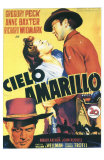 Yellow Sky, Spanish Movie Poster, 1948 Posters