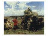 Haymaking, 1873 Poster by Konstantin Egorovich Makovsky