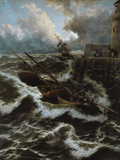 After a Stormy Night Giclee Print by Thomas Rose Miles