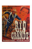 Rio Grande, French Movie Poster, 1950 Photo