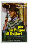 A Fistful of Dollars, Italian Movie Poster, 1964 Print