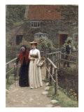 A Wistful Glance, 1897 Giclee Print by Edmund Blair Leighton