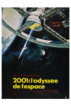 2001: A Space Odyssey, French Movie Poster, 1968 Prints
