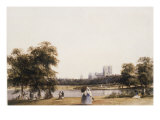 Westminster from St James's Park, c.1830 Poster by Thomas Shotter Boys