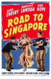 Road to Singapore, 1940 Affiches