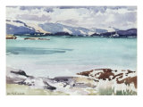 Lisemore and Morven from Mull Giclee Print by Francis Campbell Boileau Cadell