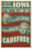 Carefree, 1938 Poster