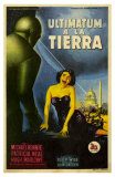 The Day The Earth Stood Still, Italian Movie Poster, 1951 Prints