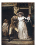 The Story of Laetitia - Scene 5 Tavern Door (One of six) Posters by George Morland