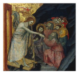 Christ's Descent into Limbo Plakater af Taddeo di Bartolo