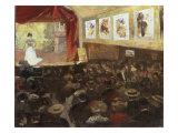 Le Cafe-Concert Poster by Louis Abel-Truchet