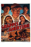 The Grapes of Wrath, Belgian Movie Poster, 1940 Prints