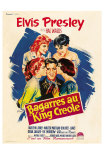 King Creole, French Movie Poster, 1958 Prints