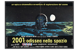 2001: A Space Odyssey, Italian Movie Poster, 1968 Photo