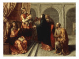 The Presentation of Christ in the Temple Giclée-Druck von Pieter Van Lint