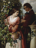 A Bower of Passion Flowers, 1865 Art by Daniel Maclise
