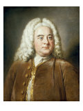 Portrait of George Frederick Handel Print by William Hoare