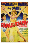 Song of the Islands, 1942 Posters