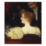 La Loge (The Theater Box) Posters by Henri Gervex