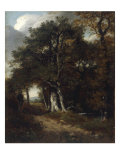 A Woodland Scene, c.1801 Print by John Constable