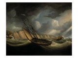 A Rapid Schooner and Deal Lugger off the South Foreland Prints by Thomas Buttersworth