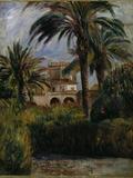 Le Jardin d'Essai a Alger, 1882 Giclée-tryk af Pierre-Auguste Renoir
