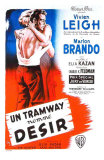 A Streetcar Named Desire, French Movie Poster, 1951 Affiches
