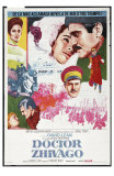 Doctor Zhivago, Spanish Movie Poster, 1965 Prints